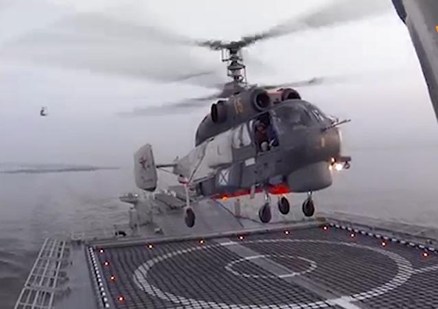 俄罗斯卡-27直升机