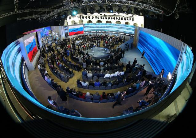 普京將在莫斯科商棧展覽中心向聯邦會議發表國情咨文