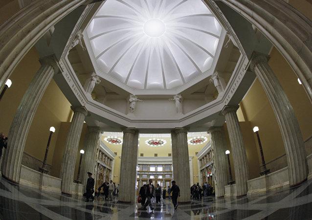 莫斯科庫爾斯克地鐵站大廳