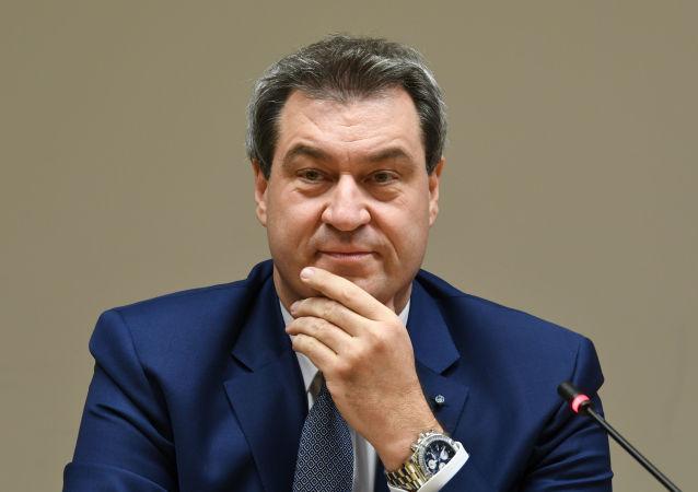 德国联邦巴伐利亚州州长、基督教社会联盟主席马库斯•索德尔