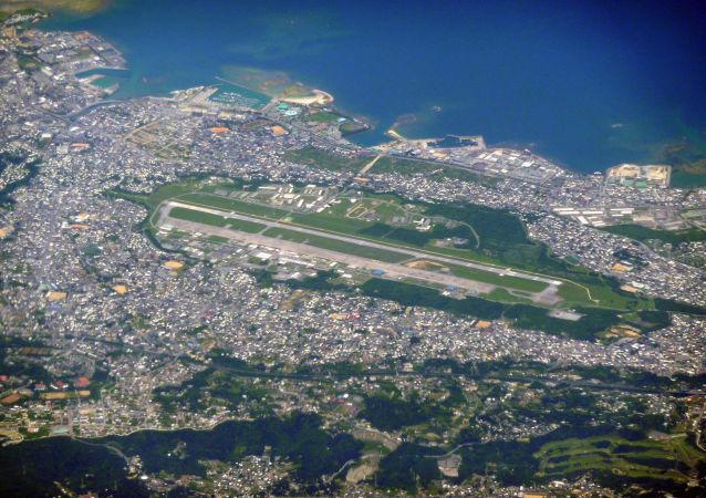 Военно-воздушная база корпуса морской пехоты США Футенма на Окинаве, Япония