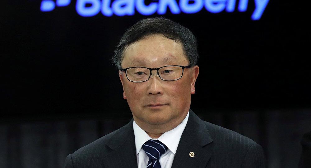 黑莓首席執行官約翰·陳