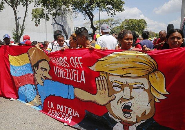 俄议员:美国继续对委内瑞拉实施侵略政策