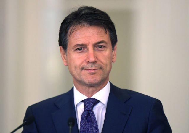 意大利總理朱塞佩∙孔特