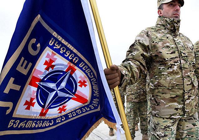 北約在格魯吉亞的軍事演習