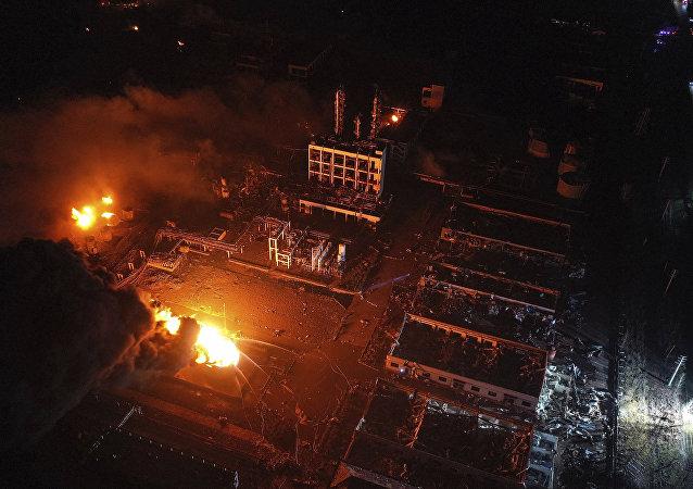 江蘇鹽城化工廠爆炸事件