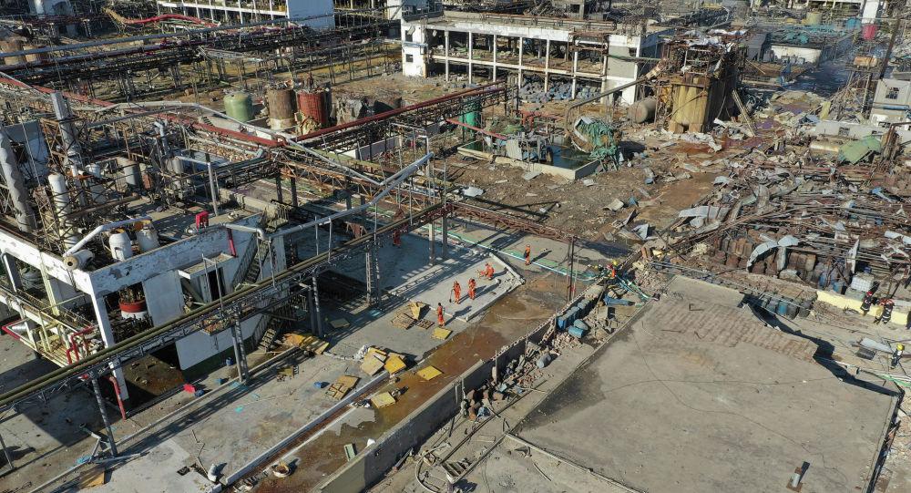 中國江蘇化工廠爆炸案件中的100多名傷者情況依然嚴重