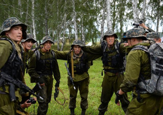 乌兹别克斯坦军人(资料图片)