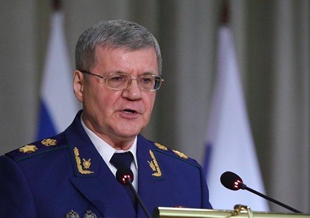 俄罗斯总检察长尤里·柴卡