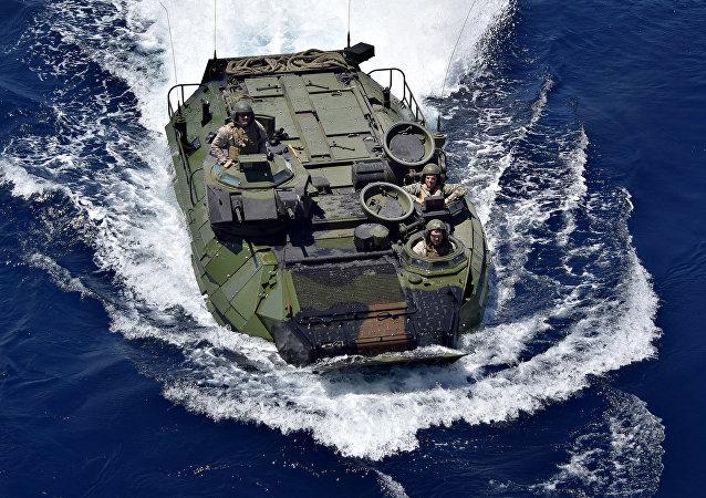 ВВС США во время военных учений Balikatan 2019 в Южно-китайском море