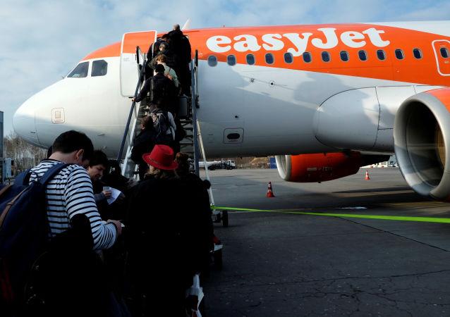 英国易捷航空公司飞机