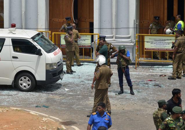 斯里兰卡官员:爆炸后斯里兰卡政府召集紧急会议