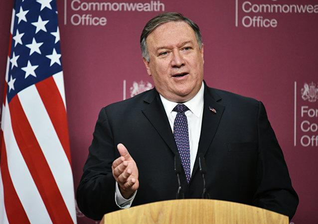 美国务卿蓬佩奥计划于5月12至14日访问俄罗斯