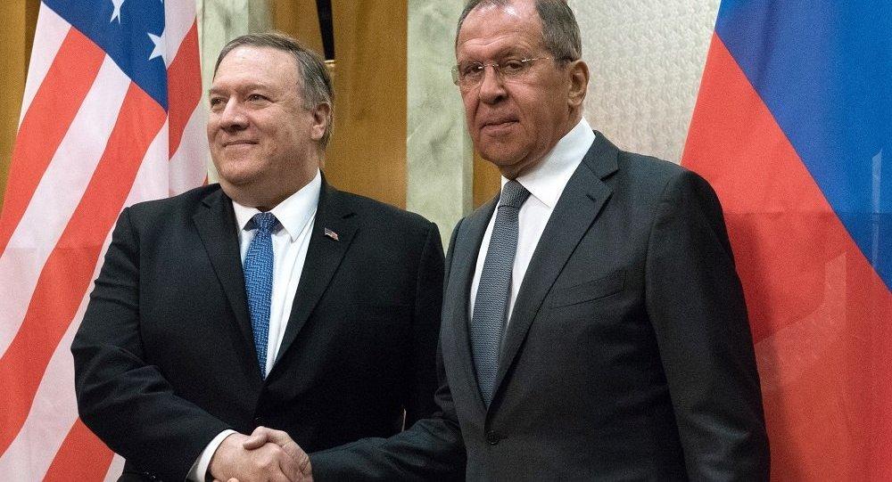 拉夫罗夫与蓬佩奥讨论普京关于德国伊朗参加五常峰会的提议
