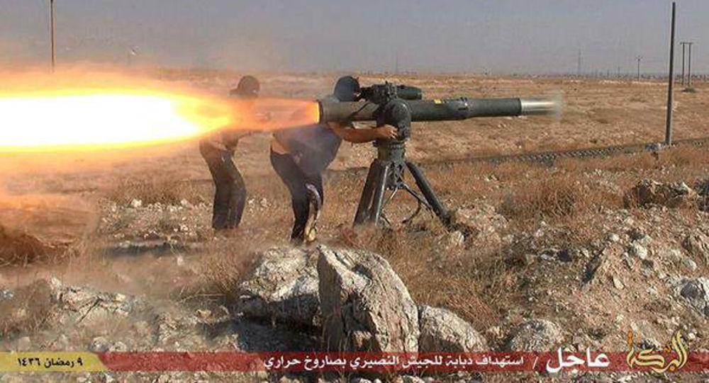 IS武装分子(资料图片)