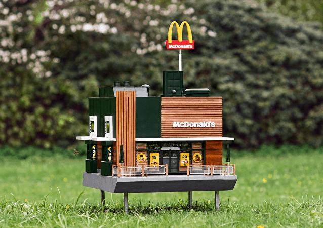 瑞典開設迷你麥當勞