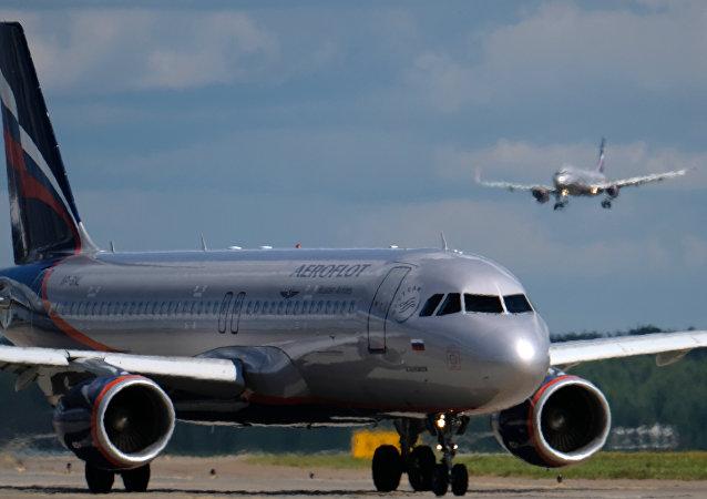 俄罗斯一客机因传感器失灵迫降谢列梅捷沃机场