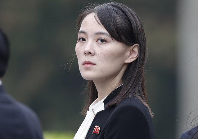 朝鲜领导人金正恩的妹妹金与正
