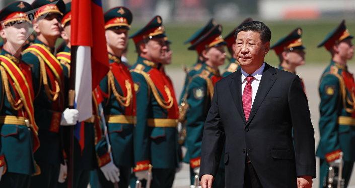 中國國家主席習近平抵達莫斯科 開啓國事訪問