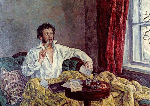 普京认为普希金和彼得一世是俄罗斯最杰出人士