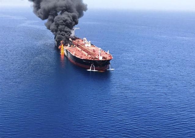 媒體:伊朗在阿曼灣油輪遇襲事件發生前曾試圖擊落美國無人機