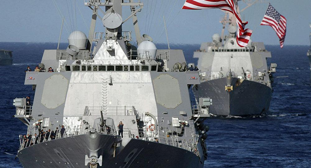 俄军总参谋部情报总局:美国正在亚太地区组建联盟 用以与中国对抗
