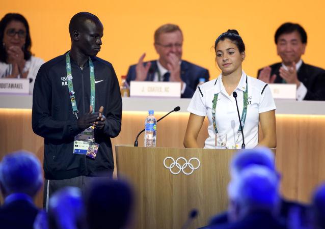 奧運難民隊