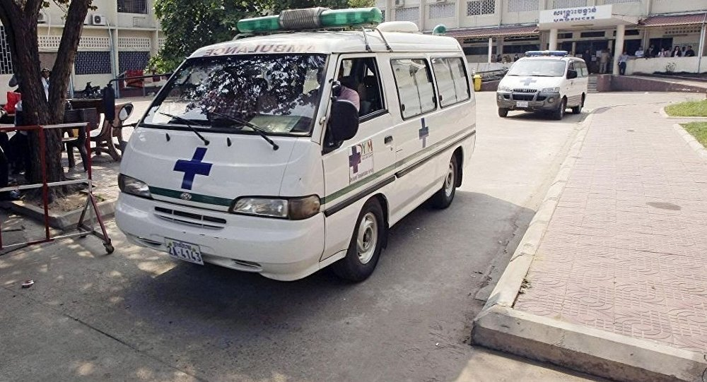 柬埔寨救護車