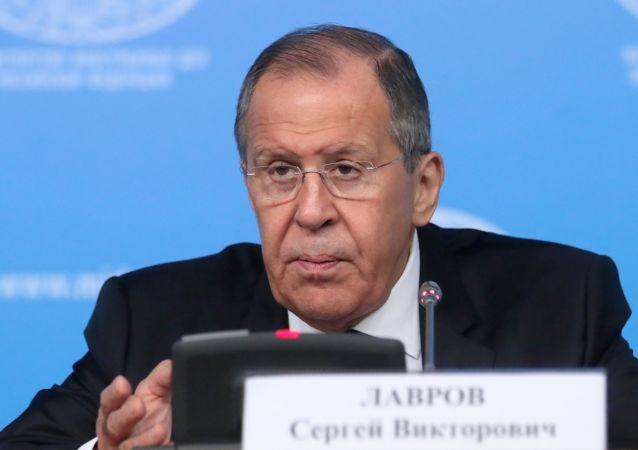 俄罗斯联邦外长谢尔盖∙拉夫罗夫