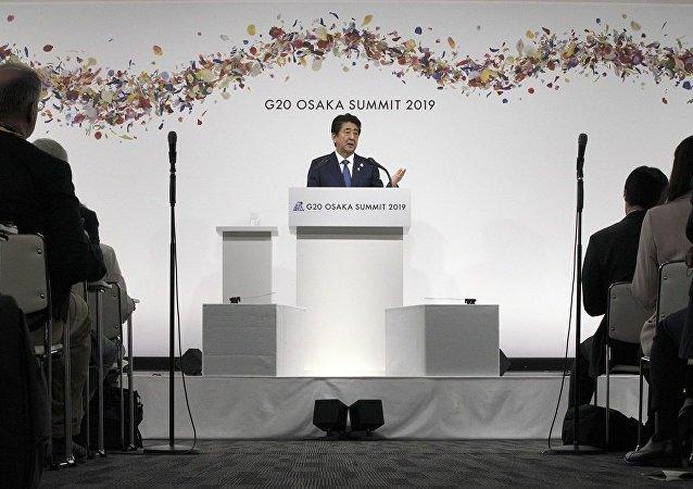 日本首相:必须改革世贸组织并建立数字数据监管规则