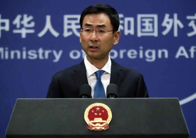 中国外交部发言人耿爽