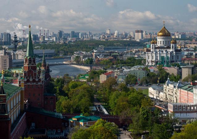 莫斯科空气未因郊区热电站火灾受到污染