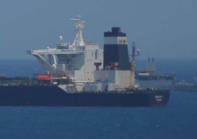 伊朗「格蕾絲一號」油輪(Grace 1)