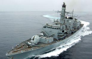 """英国""""里士满""""号护卫舰过航台湾海峡 中国东部战区:英方枉费心机刷""""存在感"""""""