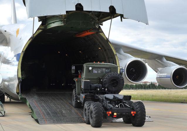 俄国防部证实14日向土耳其供应S-400部件
