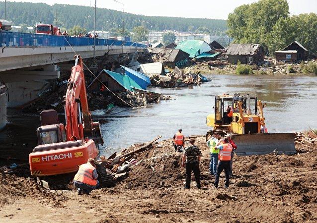 普京对伊尔库茨克州洪水赈灾工作表示不满