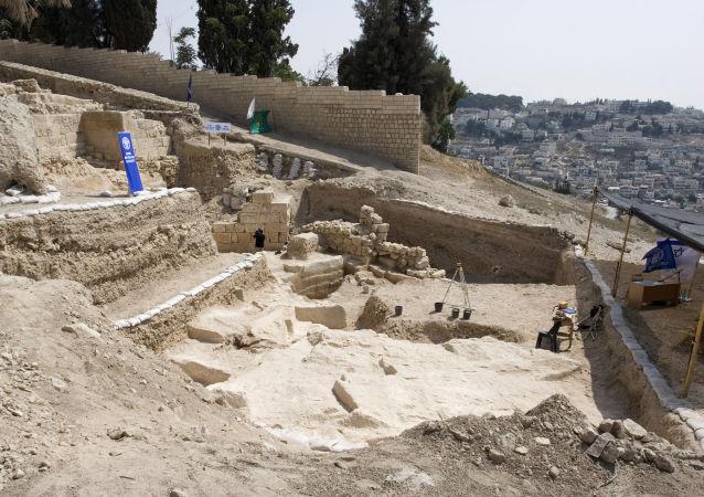 在耶路撒冷挖到