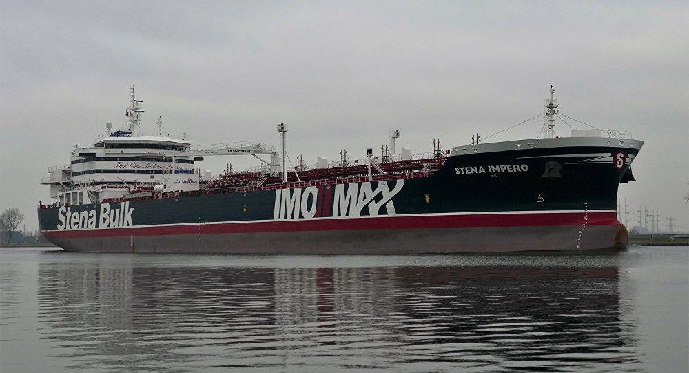 媒体:伊朗当局在本国渔船事件后扣押Stena Impero号油轮