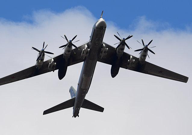 Стратегический бомбардировщик-ракетоносец Ту-95МС