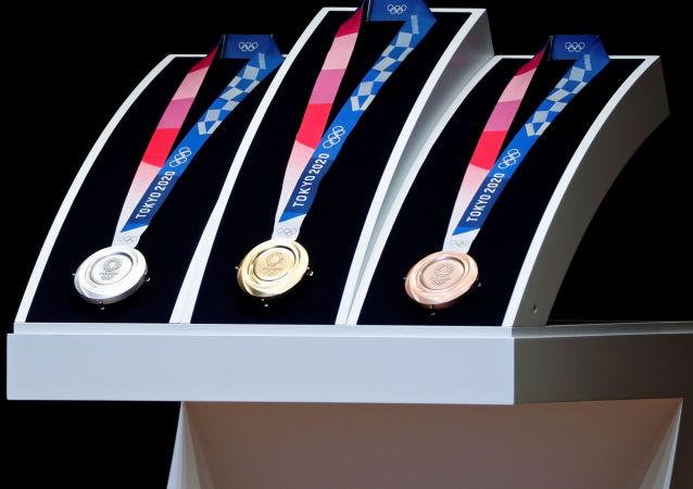 2020奧運會的牌