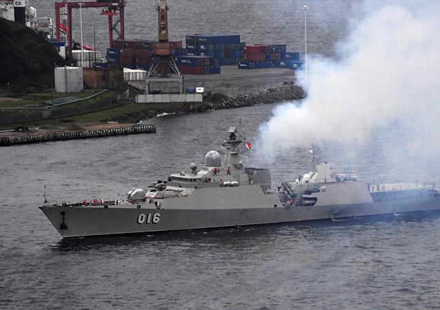 越南的「光忠」號導彈護衛艦