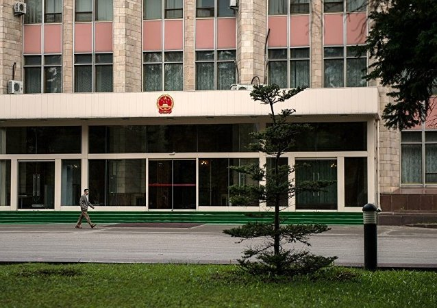 驻莫斯科中国大使馆(资料图片)