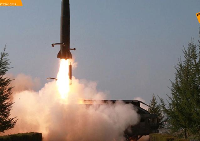 朝鲜称试射导弹是为警告韩国