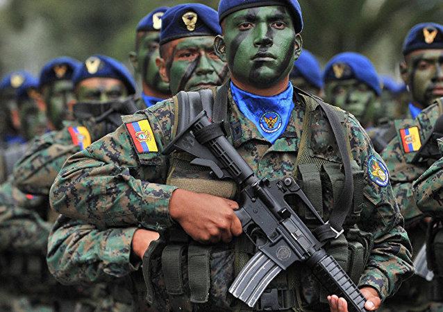 哥伦比亚军方