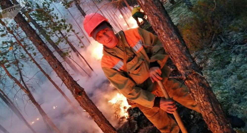 雅库特森林火灾