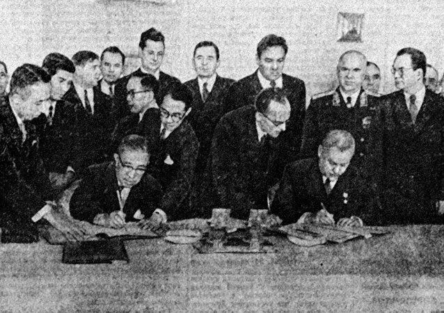 外媒:日本在1956年同苏联签署的宣言中放弃反核条款
