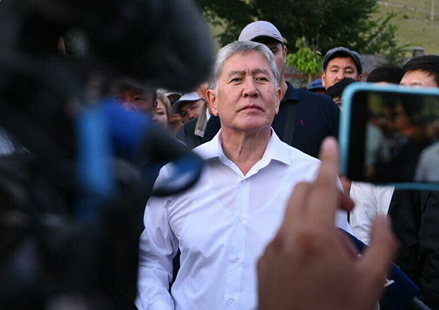吉尔吉斯斯坦前总统阿坦巴耶夫