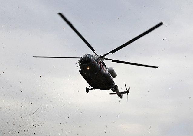俄罗斯和叙利亚首次举行直升机飞行员联合演习