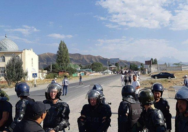 吉爾吉斯斯坦特種部隊消滅欲發動「聖戰」的恐怖組織