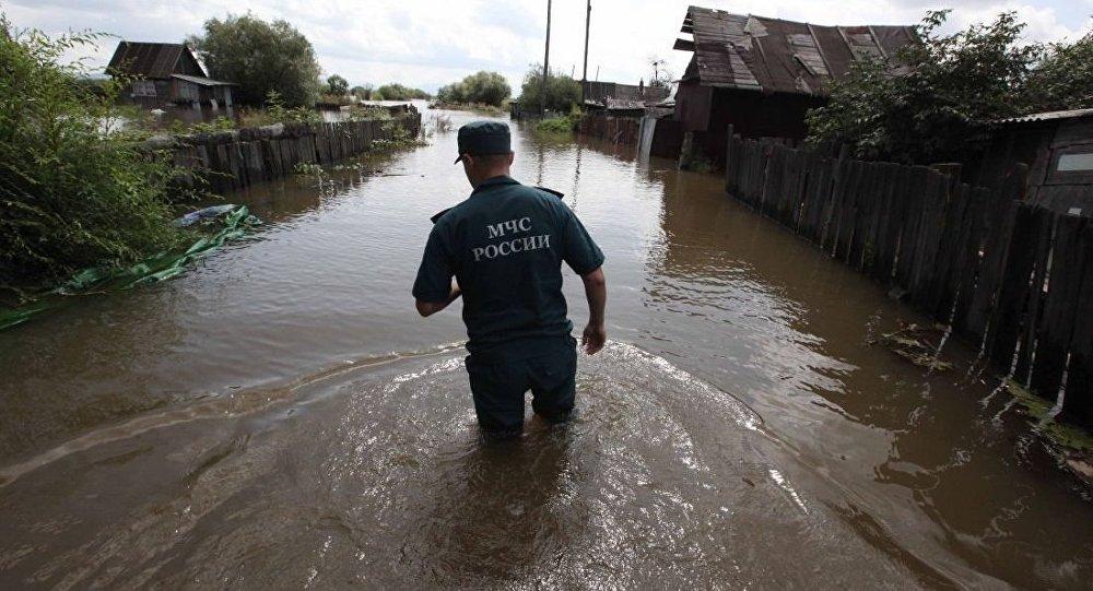俄紧急情况部:哈巴罗夫斯克救援人员前往阿穆尔州协助抗洪